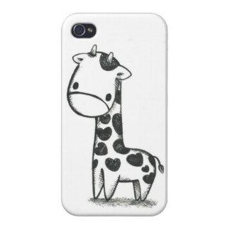 Giraffe Love IPhone Case iPhone 4 Cover