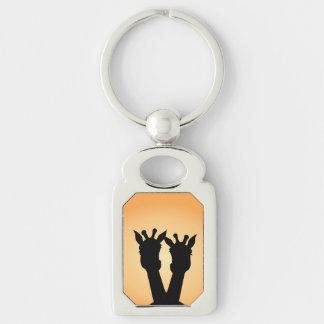 Giraffe Love Keychain