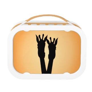 Giraffe Love Lunch Box