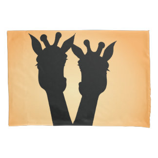 Giraffe Love Pillowcase