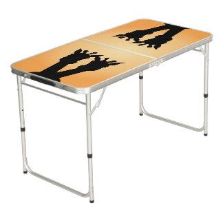 Giraffe Love Pong Table
