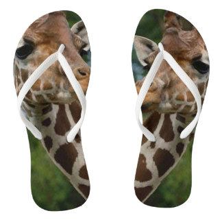 Giraffe Lovers Flip Flops