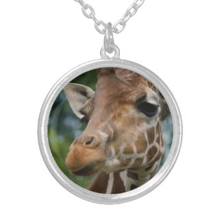 Giraffe Lovers Silver Plated Necklace