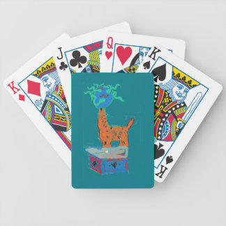 Giraffe Magic Bicycle Playing Cards