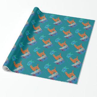 Giraffe Magic Wrapping Paper