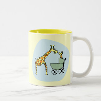 Giraffe Mom and Baby Mug