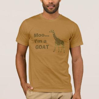 Giraffe moo I'm a goat T-Shirt