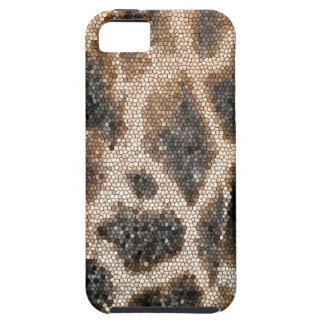 Giraffe mosaic iPhone 5 cases