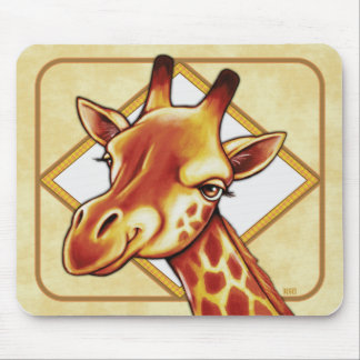 Giraffe Mouse Pad