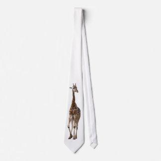 Giraffe Named Tip Top Tie..! Tie