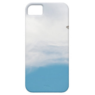 Giraffe neck and head against the clear blue sky iPhone 5 covers