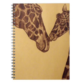 Giraffe Notebooks
