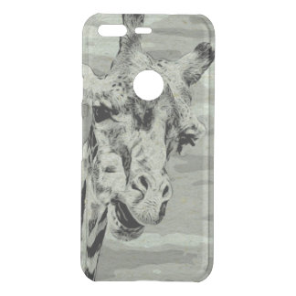 Giraffe Observing Uncommon Google Pixel Case