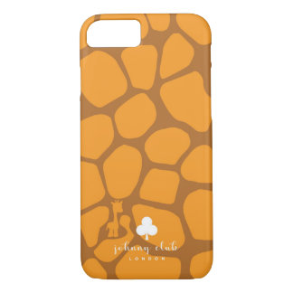 Giraffe (Orange-Tan) iPhone 7 Case