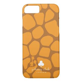 Giraffe (Orange-Tan) iPhone 8/7 Case