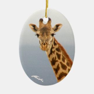 Giraffe Ornament (2-sided)