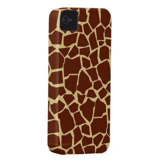 Giraffe Pattern Animal Print Fun Cover Case Skin Case-Mate iPhone 4 Case