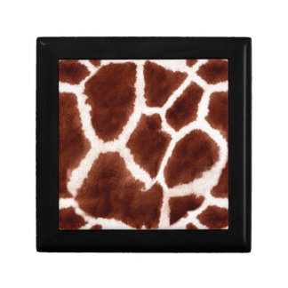 Giraffe Pattern Animal Print Gift Box
