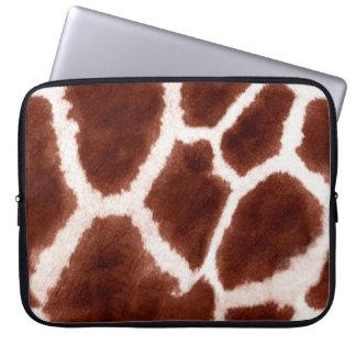 Giraffe Pattern Animal Print Laptop Sleeve
