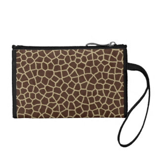 Giraffe Pattern Coin Purse