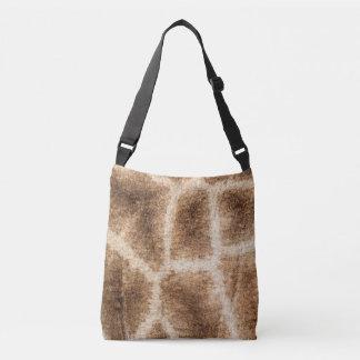 Giraffe pattern crossbody bag