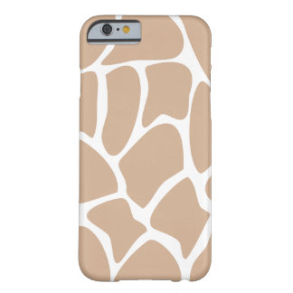 Giraffe Pattern in Beige. Barely There iPhone 6 Case