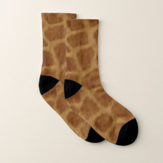 Giraffe Pattern Socks 1