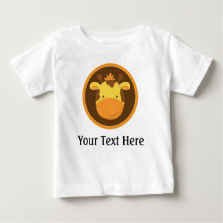 Giraffe Personalized Baby T Shirt