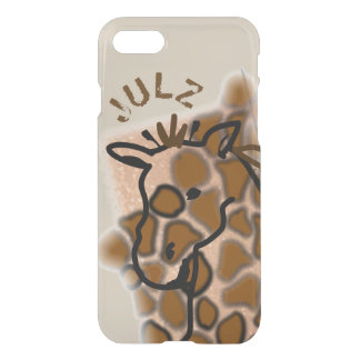 Giraffe Personalized iPhone 8/7 Case