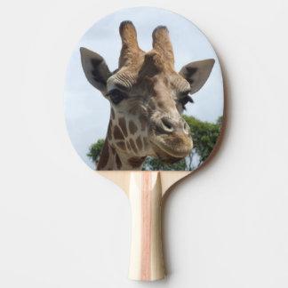Giraffe Ping Pong Paddle