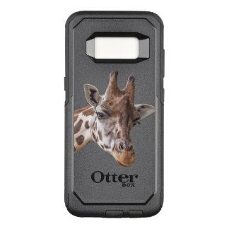 Giraffe Portrait OtterBox Commuter Samsung Galaxy S8 Case