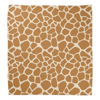 Giraffe Print Bandana