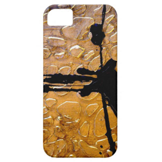 Giraffe Print by Abstract Artist Holly Anderson iPhone 5 Cases