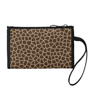 Giraffe Print Coin Purse