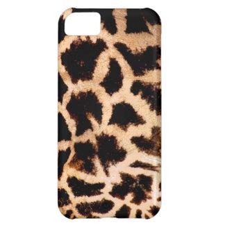 giraffe print cover for iPhone 5C
