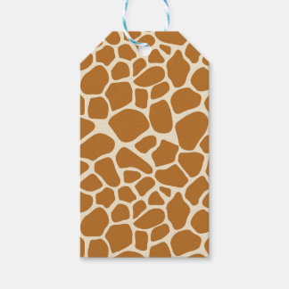 Giraffe Print Gift Tag Pack Of Gift Tags
