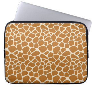 Giraffe Print Laptop Sleeve