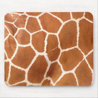 Giraffe Print Mouse Pad