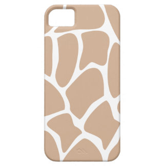 Giraffe Print Pattern in Beige. Case For The iPhone 5