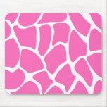 Giraffe Print Pattern in Bright Pink.