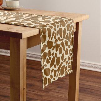 Giraffe Print Pattern Short Table Runner