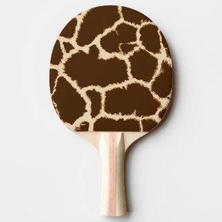 Giraffe Print Ping Pong Paddle