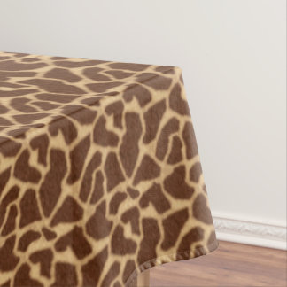 Giraffe Print Tablecloth