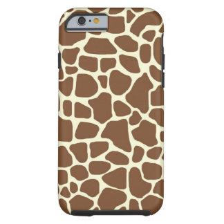 Giraffe print tough iPhone 6 case