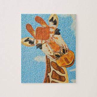 Giraffe puzzle 8 x 10
