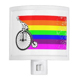 Giraffe Rainbow Bike Night Lite