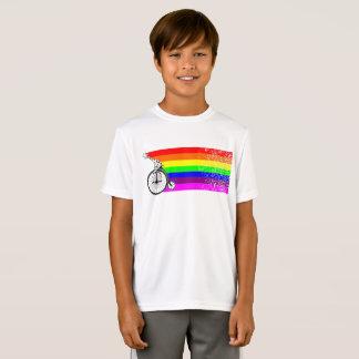 Giraffe Rainbow Bike T-Shirt