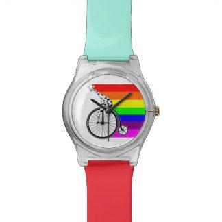 Giraffe Rainbow Bike Watch