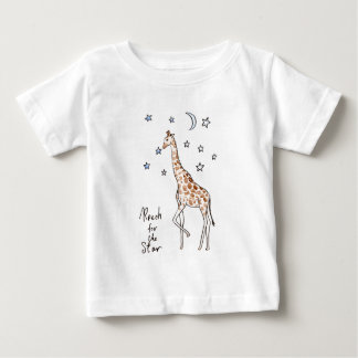 giraffe reach for the star baby T-Shirt