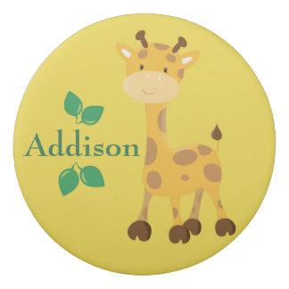 Giraffe Safari Personalize Eraser